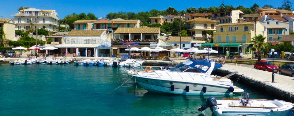 Visit Kassiopi - the most developed village of the northern part of Corfu