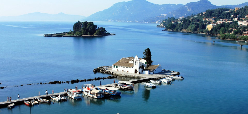 Explore the beautiful island of Corfu