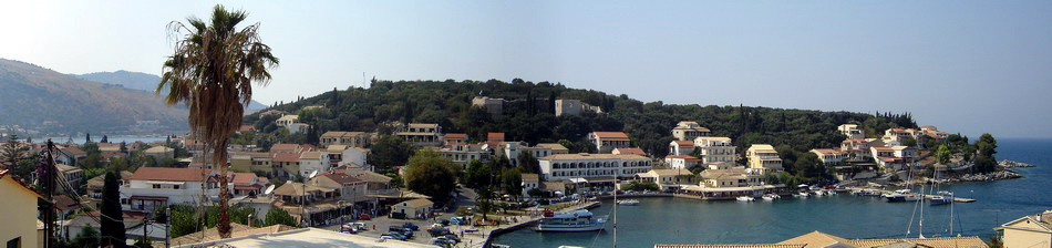 Kassiopi location